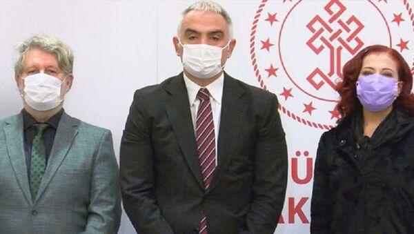 Mehmet Nuri Ersoy, Candan Erçetin - Sputnik Türkiye