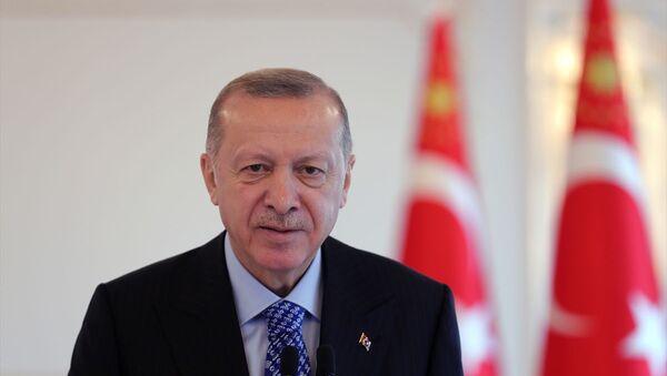 Erdoğan - koronavirüs - Sputnik Türkiye