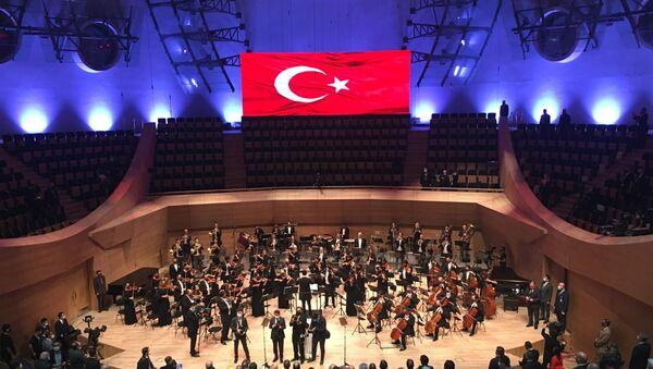 Ankara'da Cumhurbaşkanlığı Senfoni Orkestrası'nın açılışı  - Sputnik Türkiye
