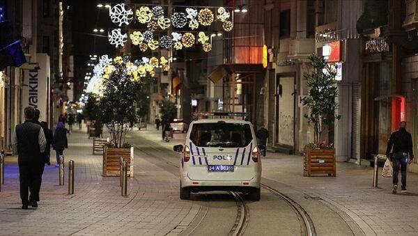 Taksim, sokağa çıkma kısıtlaması - Sputnik Türkiye