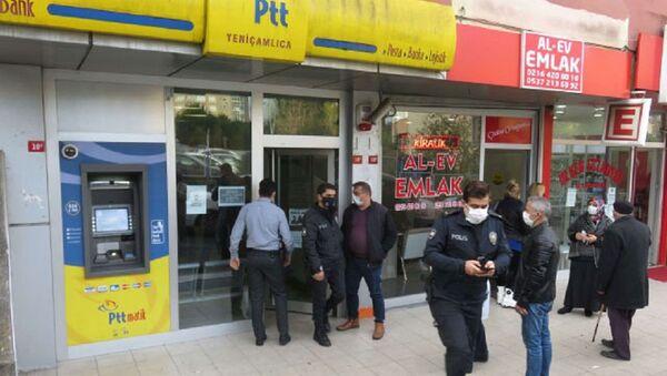 İstanbul PTT, soygun - Sputnik Türkiye