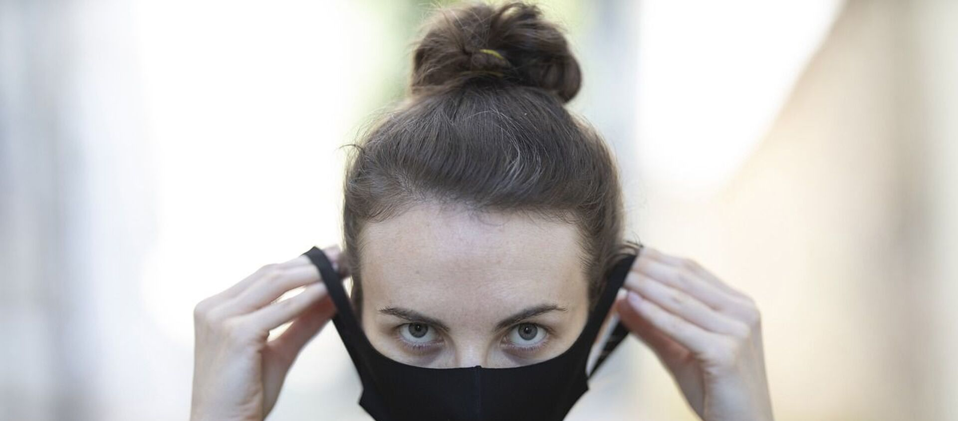 Siyah maske - maske - koronavirüs - Sputnik Türkiye, 1920, 10.02.2021