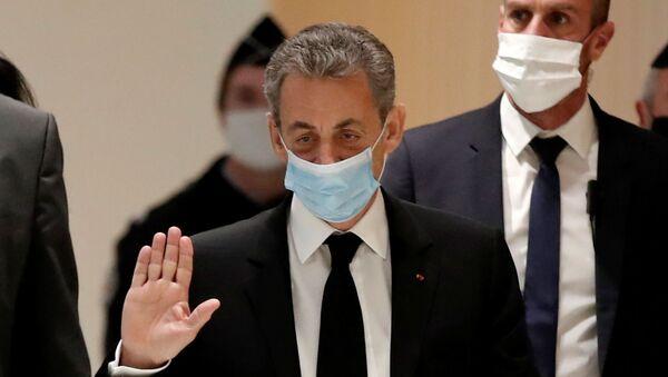 Eski Fransa Cumhurbaşkanı Nicolas Sarkozy - Sputnik Türkiye