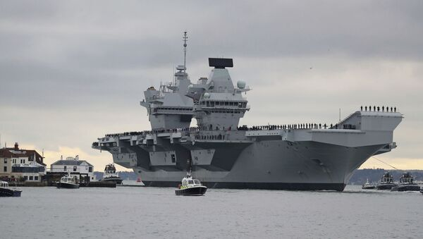 HMS Prince of Wales uçak gemisi - Sputnik Türkiye