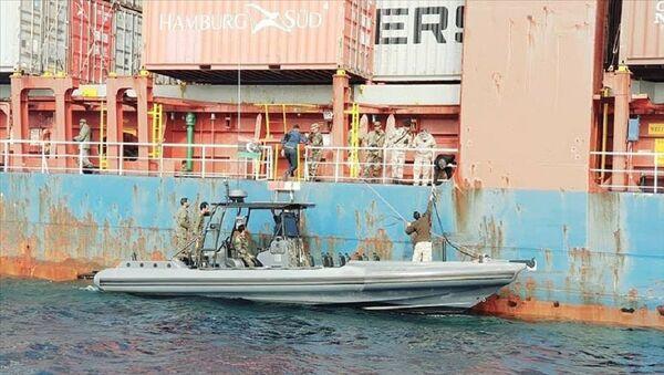 Libya'da el konulan Jamaika bandıralı Türk gemisi - Sputnik Türkiye