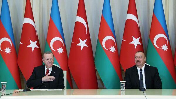 Erdoğan - Aliyev - Sputnik Türkiye