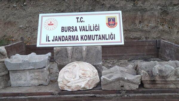 Roma ve Bizans dönemine ait tarihi eserler - Sputnik Türkiye