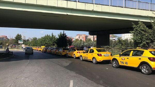 Taksi, taksici - Sputnik Türkiye