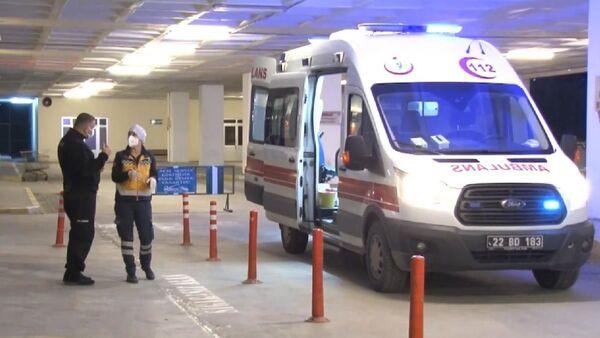 Edirne'de hastane - Sputnik Türkiye