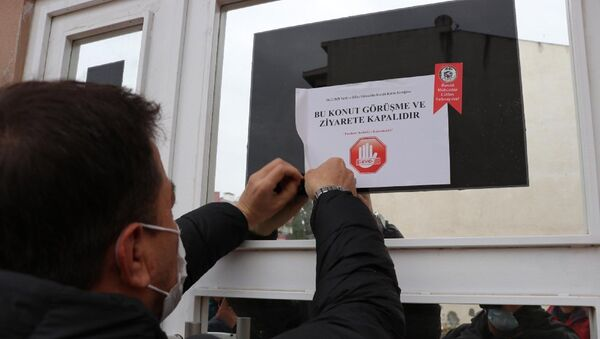 koronavirüs uyarısı, Balıkesir - Sputnik Türkiye