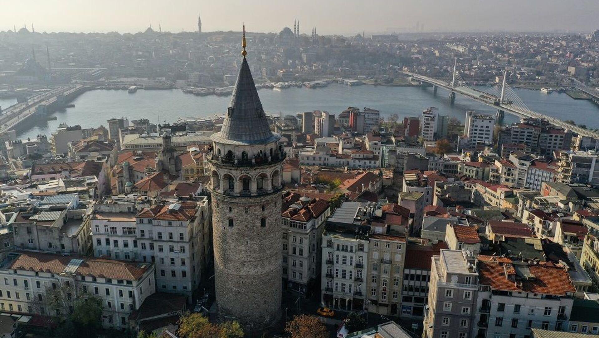 İstanbul, Galata Kulesi - Sputnik Türkiye, 1920, 06.07.2021