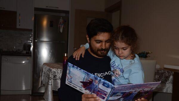 Türk baba: Kızıma kavuştum, Cumhurbaşkanıma çok teşekkür ederim - Sputnik Türkiye