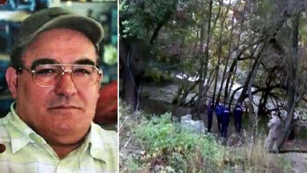 Kırşehir'in Çiçekdağı ilçesinde 2013 yılında 38 yerinden bıçaklanarak öldürülen kişinin, 7 yıl sonra gözlük ve iç çamaşırı markasından yola çıkılarak gurbetçi Mehmet Dıvar (55) olduğu tespit edildi.  - Sputnik Türkiye