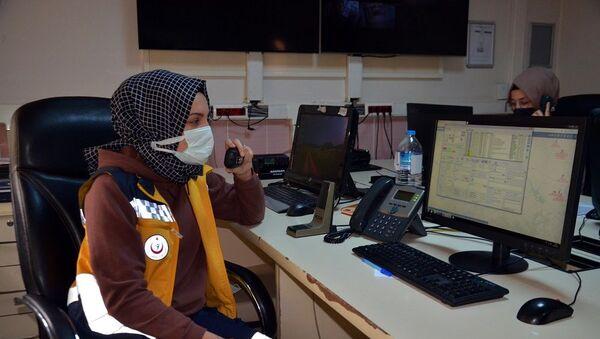 112 Acil Sağlık Hizmetleri - Sputnik Türkiye