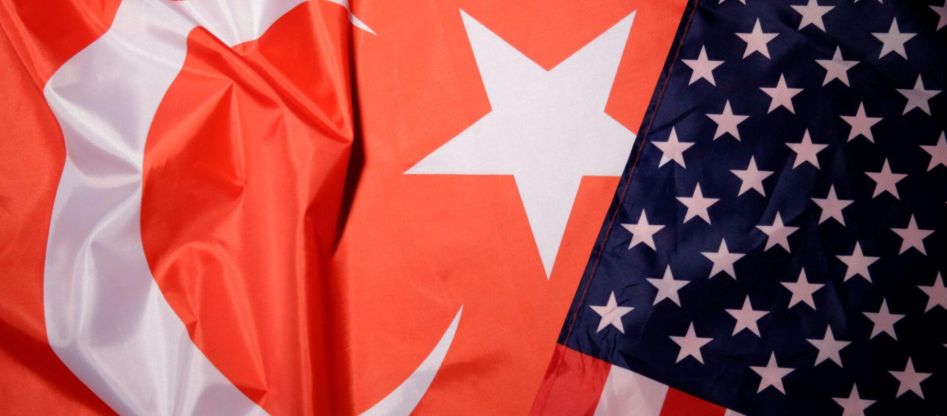 ABD - Türkiye - bayrak - Sputnik Türkiye, 1920, 21.07.2021