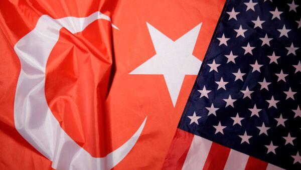 ABD - Türkiye - bayrak - Sputnik Türkiye