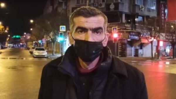 Polis ekipleri 'Cezaevinden yeni çıktım, evsizim, mezarlıkta kalıyorum' diyen adama cezai işlem uygulamadı - Sputnik Türkiye