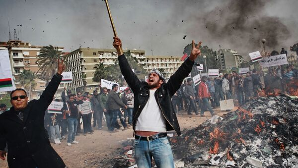 Arap Baharı olaylarının yaşandığı ülkeler - Sputnik Türkiye