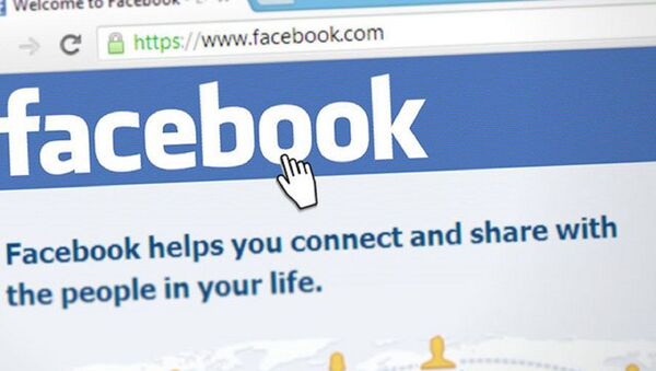 Facebook - sosyal medya - Sputnik Türkiye