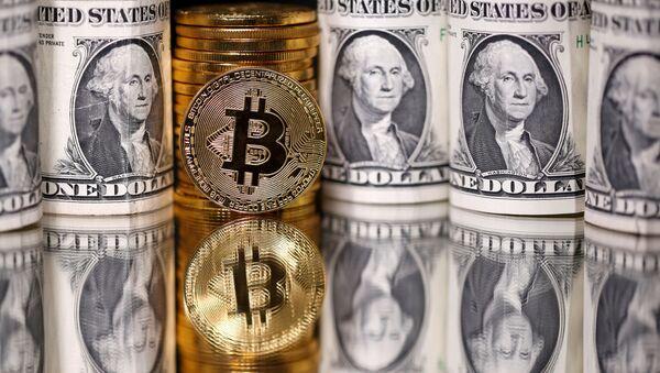 Bitcoin ve dolar - Sputnik Türkiye