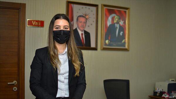 Çorum'da Kovid-19'u atlatan 27 yaşındaki Merve Karaçoban - Sputnik Türkiye