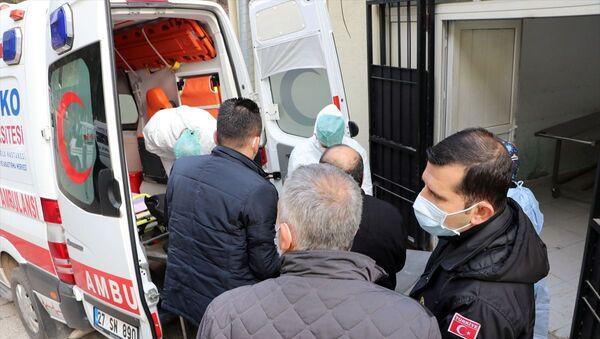 Gaziantep'te SANKO Üniversitesi Özel Sani Konukoğlu Hastanesi yangın - Sputnik Türkiye