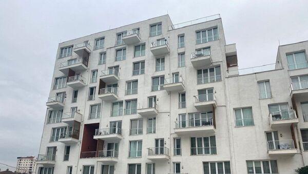 Site, apartman,  - Sputnik Türkiye