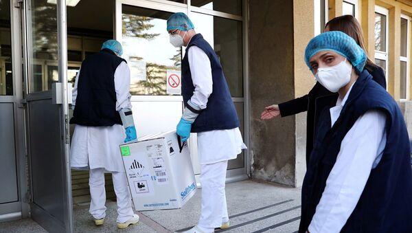 Sırbistan - Pfizer-BioNTech aşısı - koronavirüs - Sputnik Türkiye