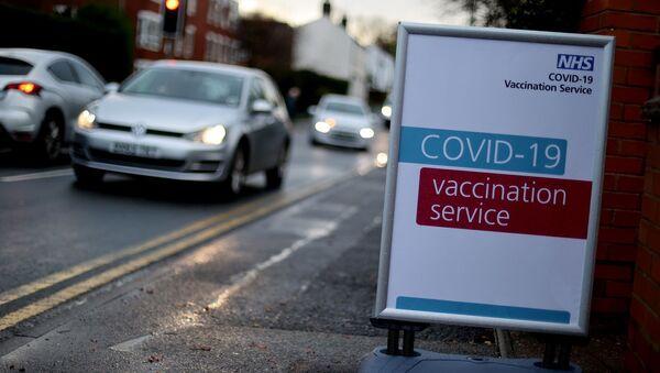 İngiltere, koronavirüs aşısı - Sputnik Türkiye
