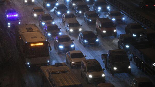 Rusya, Moskova, trafik - Sputnik Türkiye