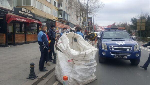 Tekirdağ - sokağa çıkma kısıtlaması - ceza - Sputnik Türkiye