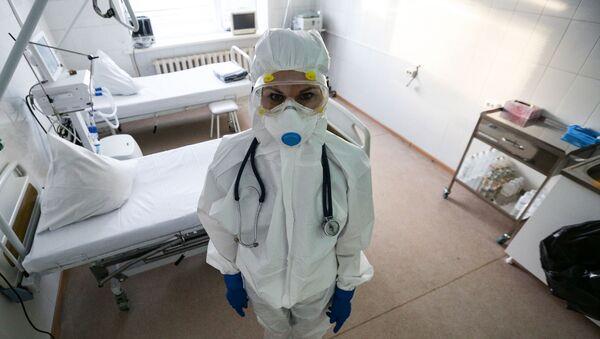 hastane, doktor, koronavirüs, Rusya - Sputnik Türkiye
