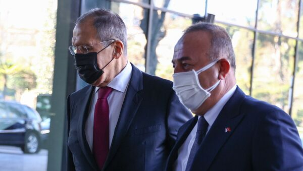 Lavrov - Çavuşoğlu - Sputnik Türkiye