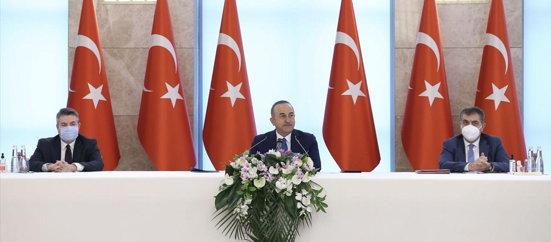 Mevlüt Çavuşoğlu - Sputnik Türkiye, 1920, 15.02.2021