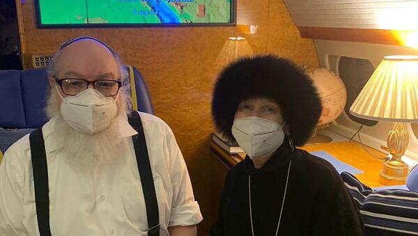 Jonathan Pollard ve eşi Esther - Sputnik Türkiye