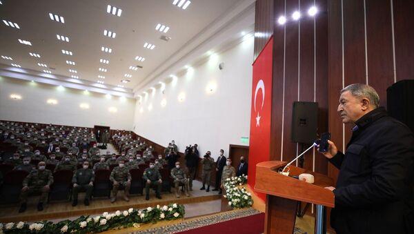 Erdoğan,Azerbaycan'da bulunan Mehmetçiğe hitap etti - Sputnik Türkiye