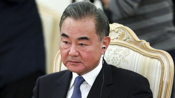 Çin Dışişleri Bakanı Vang Yi - Sputnik Türkiye