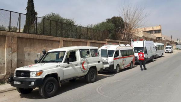 Ambulans- Suriye - Sputnik Türkiye
