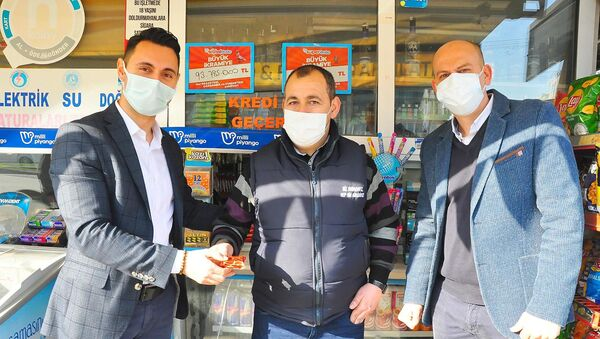 25 milyon TL'lik çeyrek bileti satan bayiye ödül - Sputnik Türkiye