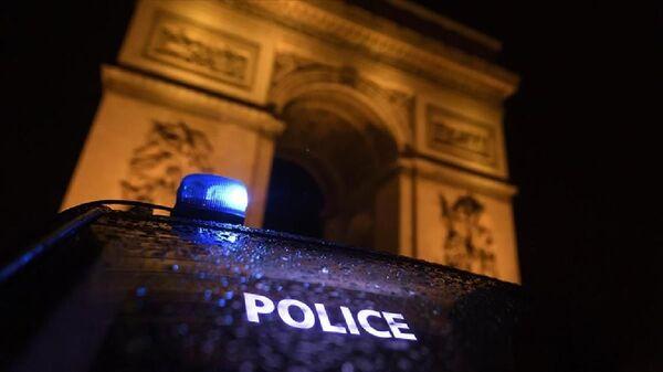 Fransa polisi, Fransız polisi, Paris'te polis - Sputnik Türkiye