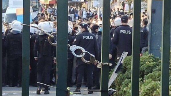 Boğaziçi Üniversitesi kelepçe - Sputnik Türkiye