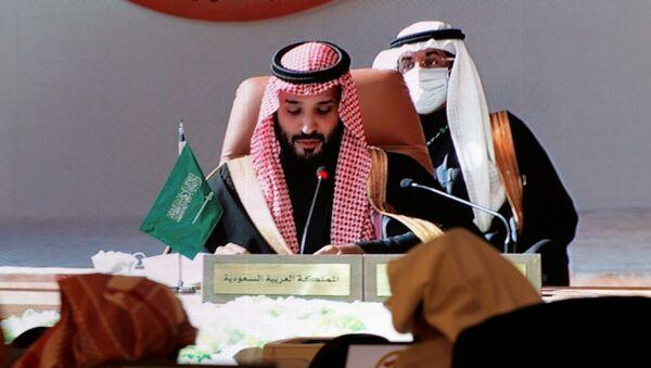 Suudi Arabistan Veliaht Prensi Muhammed bin Selman -  41. Körfez İşbirliği Konseyi (KİK)  - Sputnik Türkiye