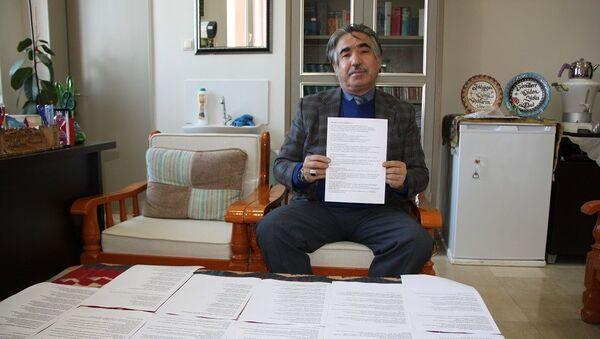 Cumhurbaşkanı Erdoğan için 100 kıtalık şiir yazdı - Sputnik Türkiye