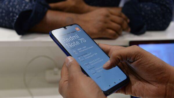 Xiaomi - cep telefonu - Hindistan - Sputnik Türkiye