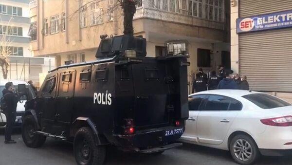 Diyarbakır - polis - Sputnik Türkiye
