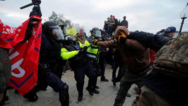 ABD-Kongre-protesto sonrası  - Sputnik Türkiye
