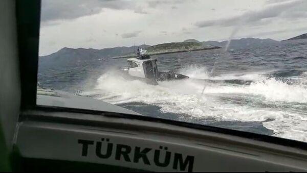 Kardak Kayalıkları'nda gerilim - Sputnik Türkiye