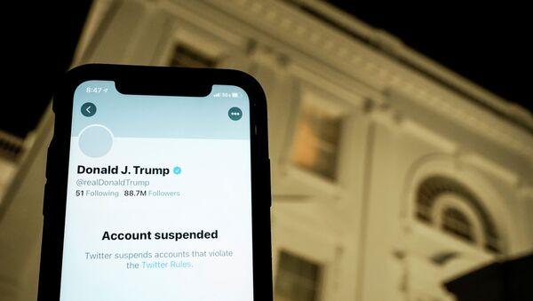 Trump twitter - Sputnik Türkiye