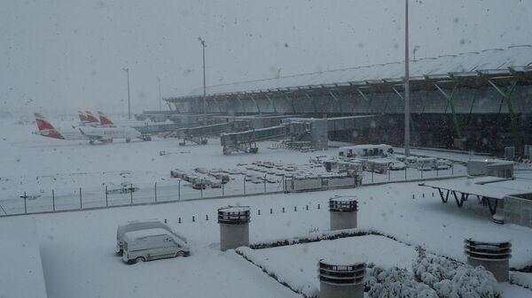 İspanya'da Filomena kar fırtınası - Sputnik Türkiye