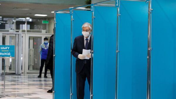 Kazakistan'da seçim - Sputnik Türkiye